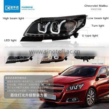 Headlight within high beam light turn light led light for Chevrolet Malibu