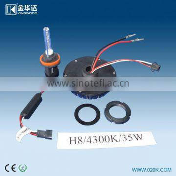 all in one high quality HID conversion kit xenon hid kit headlamp h7 35w /55w 4300k 6000k 8000k 10000k for all car