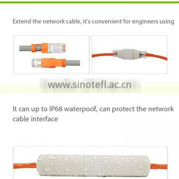 Streching resistance cat7 cable rj45 connector sheath