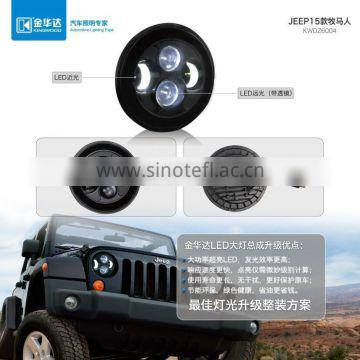 Headlight for Jeep Rubicon 2015 with hid xenon light