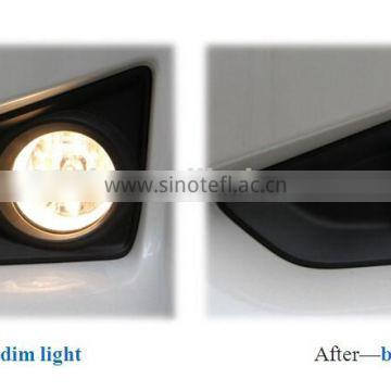 Auxiliary bend light new design 12V 16W led fog car lamp for Trumpche GS5 with dual lens, energy saving