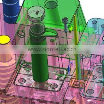 machining component precision plastic custom rapid prototype molding China factory injection plastic moulds tooling mold service