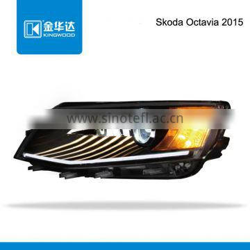 Auto parts light turn light led light hid xenon for Skoda Octavia 2015