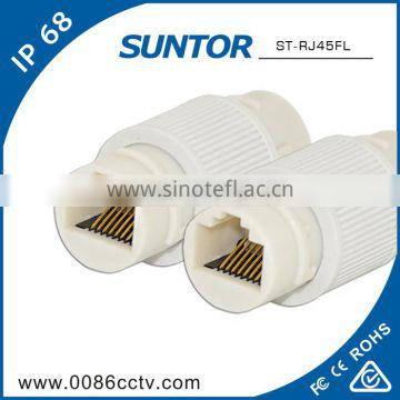 Outdoor sma cat 7 rj45 connector protective jacket types of ROHS certifiacted