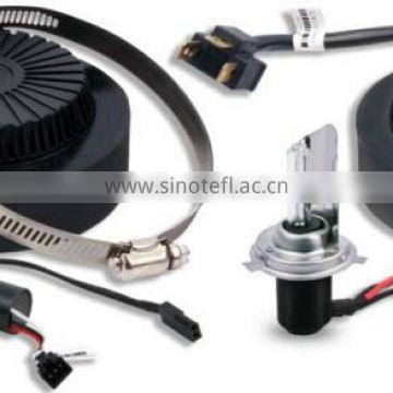 12V Voltage and HID Xenon Lamp Type bi xenon projector lens kit h4
