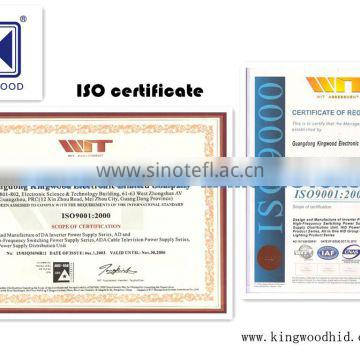Auto part xenon hid head lamp kits for KB H16 with CE E-MARK ISO9001 certification