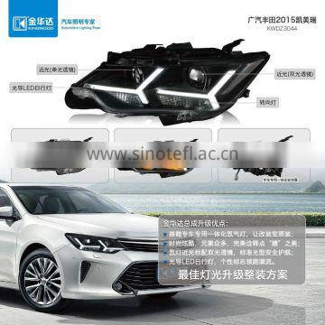 Front light for Toyota Camry 2015 hid xenon light