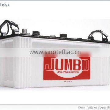 JUMBO N200 (200 AH) Car Dry Charged Battery