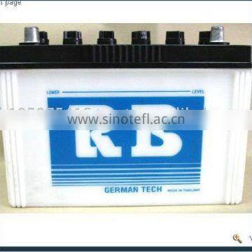 High Quality 95 AH Dry Charged Car MF Battery