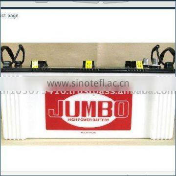 Dry Charged 100 AH Maintenance Free Auto Battery