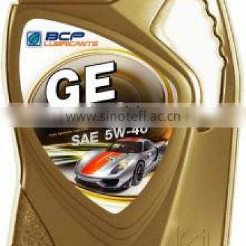 GE GOLD Fully Synthetic Engine Oil, SAE 5W-40, API SN