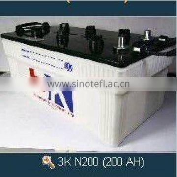High Quality 200 AH Dry Charged Japan Car Battery