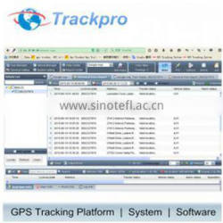 GPS Tracker control Web Online Server supporting Internex IGT100