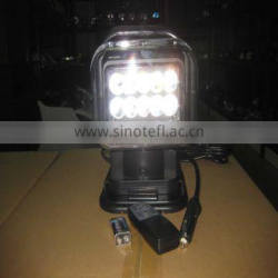 50W Remote Control Led 6000K Driving Lamp With 11th Years Gold Supplier In Alibaba (XT2009)