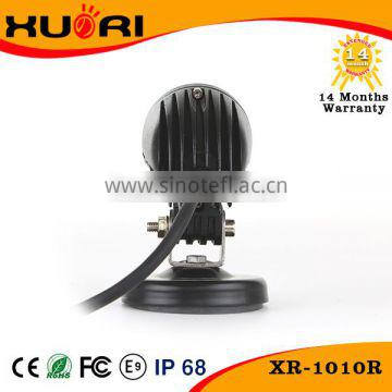 High quality 6000K 2inch ip67 PMMA led ligt bar 10w work light