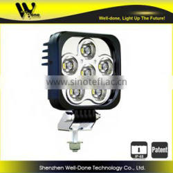 Original Design Manufacturer Oledone patent IP68 c ree Square 60W 4 x4 car LED work light