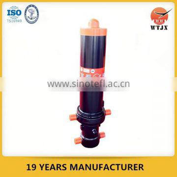 telescope hyva hydraulic cylinder for tipper truck / constuction machinery
