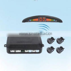 Colorful Ultrasonic Parking Sensor with LED Display and Wireless can match Different color car