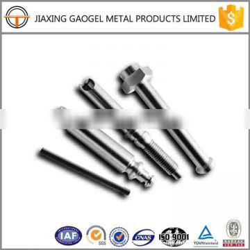 non-standard quality assurance zinc plating cnc turning part