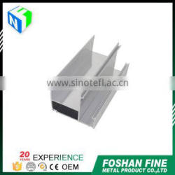 China supplier high corrosion-resistance door profile anodized aluminum extrusion