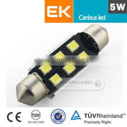 Top seller super brightness License/side/Interior Light T10/W5W/194 5630 3535 t10 canbus led