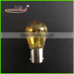S25 BA15D Yellow Auto miniature bulb