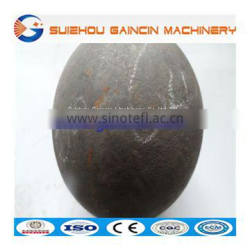 hammer forged mill steel ball, grinding media milling steel balls, forged steel mill balls