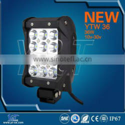 YTLB36J Top quality Agricultural Lighting 4 row led light bar 36w auxiliary headlights