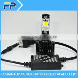 Auto parts China manufacturer wholesaler new product waterproof 9-36V35W 3800lumen dual beam design led work light H4