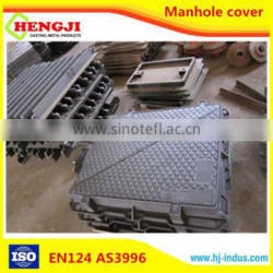 EN124 ISO9001 professional desigh of Ductile Iron Round and square OEM tank manhole cover