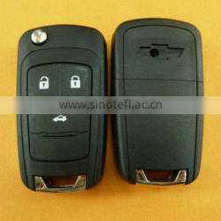 3 Button Chevrolet remote key with 433mhz ID16 chip for Chevrolet car key