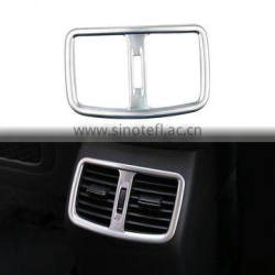 Car ABS Chrome Rear Center Console Rear Air Vent Outlet Frame Cover Trim Decoration For Hyundai Tucson 3th 2015 2016