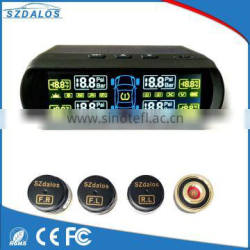 Diy digital number warning auto vehicle tire pressure monitoring diy solar tpms