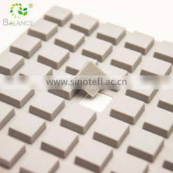 Self adhesive sticky rubber pads for glass top