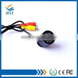Color CMOS sensor wide angle rear view camera with parking lines