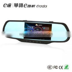 bluetooth rear view mirror gps navigation with cam dvr