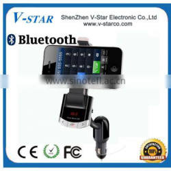 Universal bluetooth car holder BT8118-- car phone holder, bluetooth handsfree and car charger 3 in 1 functions