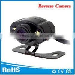 Universal rearview reverse camera with night vision