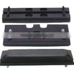 Customized various kinds Rubber track Pad for heavy duty Construction Machinery