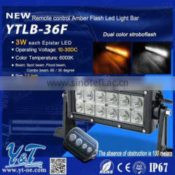 1pcs 7.5''Combo led bar 36W 12v 24v wateroproof IP67 36W led bar for Working Driving Truck SUV ATV OffRoad led light bars 12v