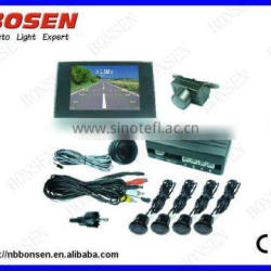 Buzzer ato rear parking sensor with VFD display