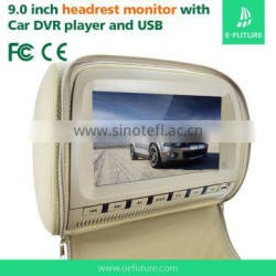 """Headrest Placement and 9"""" Screen Size 9 Inch Screen Headrest Monitor"""