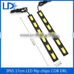 Bright White Auto COB LED Light DRL Waterproof Fog Driving Lamp