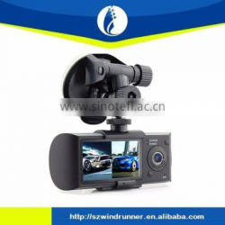 2.7 inch Display HD Car DVR X3000 Dual camera with GPS Logger