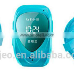 gps tracker watch kids gps kids security watch SOS panic button, GPS+LBS, android and iOS app and long standby time