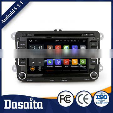 Cheap 7 inch DC 12V 15A android car audio navigation system gps dvd for VW PASSAT MK6 2006 2009