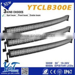 2015 HOT SELLING!!curved led 50inchs offroad light bar kit