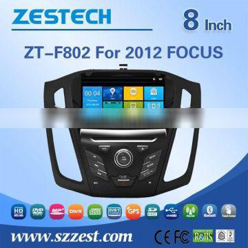 double din car dvd with gps for ford focus 2012 with Rear View Camera GPS BT TV Radio RDS