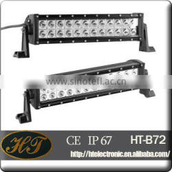 13.5inch 72w auto parts 4x4 offroad led light bar