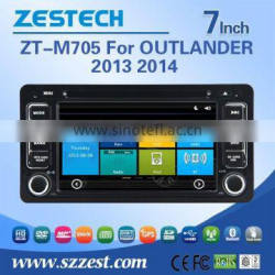 7 INCH car dvd for mitsubishi OUTLANDER 2013 2014 with Rear View Camera GPS BT TV Radio RDS